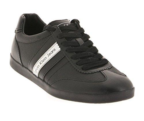 Calvin Klein Jeans Ace, Baskets Basses homme Noir