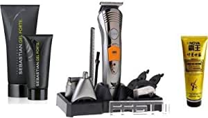 BIAOYA BAY-580 7-in-1 Rechargeable Grooming Kit