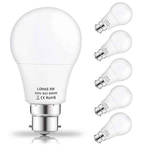5-packlohas-9watt-a60-b22-led-bulbs-60watt-incandescent-bulbs-equivalent-day-white-6000k-810lm-non-d