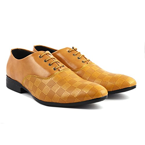 Denill Men's Synthetic Leather Formal Shoes