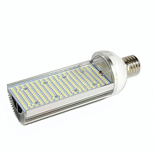 ZWL LED-Mais-Licht, E27 / E40 LED Energiesparlampen einseitiges Licht 60 / 80W alle Aluminium-Weiß-Licht-warmes weißes Licht-Rasen-Lichtquelle-Straßenlaterne-Lichtquelle-Patio-Haushalts-Beleuchtung , Bringe Licht in dein Leben ( Farbe : Weißes Licht , größe : E40-80W ) (Patio Lichter Post)