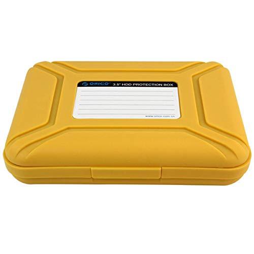 LaDicha Orico Phx-35 Zoll Sata Ssd Festplatte Hard Drive Disk Disk Storage Enclosure Case Box Protector - Gelb -