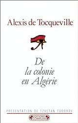 De la colonie en Algérie