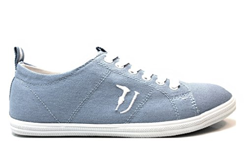 Trussardi Jeans 79S083 Azzurro Sneakers Donna Scarpa Sportiva Azzurro