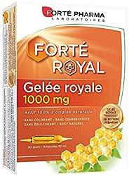 Gelée Royale Bio 1000 mg | Complément Alimentaire à base de Gelée Royale - Immunité | 20 ampoules