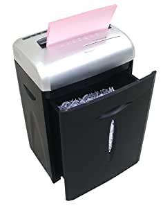 Aurora AS1023CD 12 Sheet Paper Shredder with Large 18L Pull-Out Waste Bin
