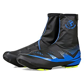 A-Best Fahrradschuhe, Wasserdichte Überschuhe Protector Schuh Füße Wärmer Überschuhe Bike Booties Abdeckung für Männer Frauen Outdoor Sport