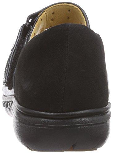 ClarksUn Swan - Mocassini da donna Nero (Black Leather)