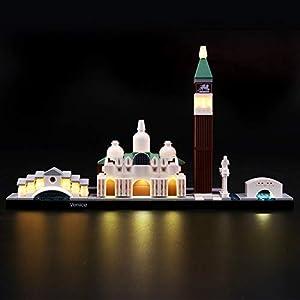 LIGHTAILING Set di Luci per (Architecture Venezia) Modello da Costruire - Kit Luce LED Compatibile con Lego 21026 (Non… 0767912927992 LEGO