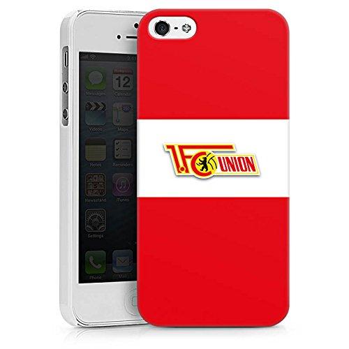 Apple iPhone X Silikon Hülle Case Schutzhülle 1. FC Union Berlin Fußball Fanartikel Hard Case weiß