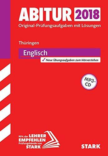 Abiturprüfung Thüringen 2018 - Englisch