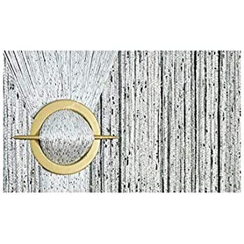 150cm X 250cm String Rideau Fil Porte De Rideau Perle Blanche AeMBe Meilleure Qualit/é