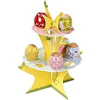 Talking Tables - Alzata per uova, modello Springtime, motivo: albero