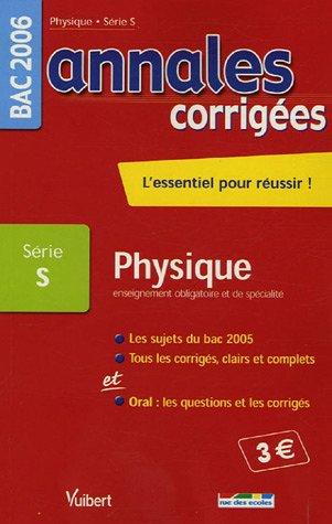 Physique Enseignement obligatoire et de spécialité Bac Série S