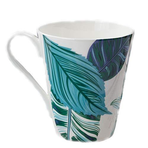 ZQWJ Bone China Becher Kreative Keramik Cup Kaffeetasse Geschenk, Kann Als Ornament Verwendet Werden...