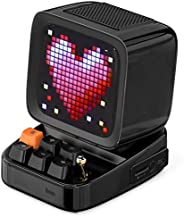 DIVOOM ACDIVDITBLK Divoom Ditoo Pixel Art Portable Bluetooth Speaker with App Controlled 16X16 LED Front Panel
