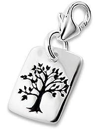 So Chic Joyas - Colgante Charm árbol vida Plata 925