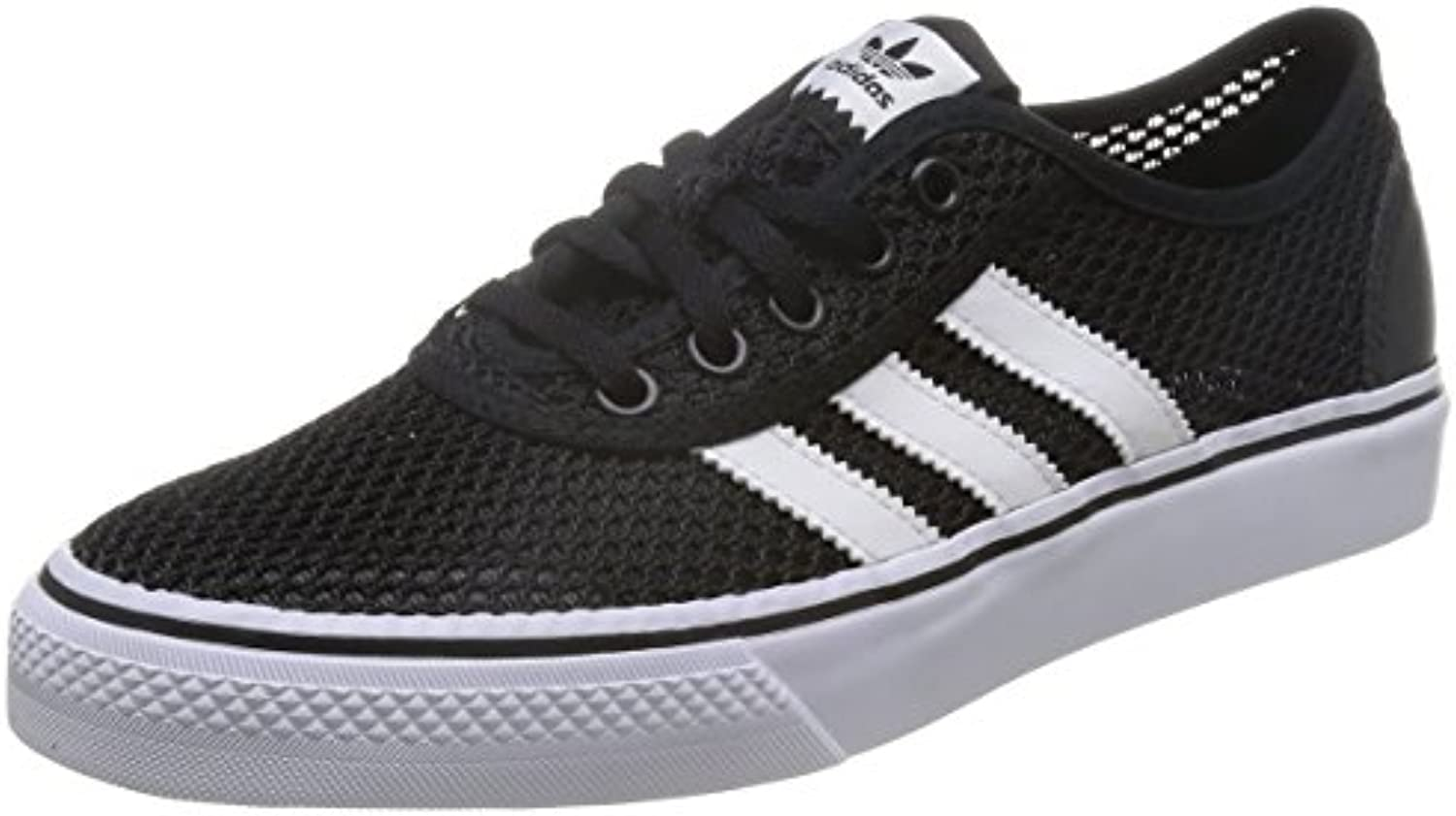 adidas Herren Adiease Clima Low Top  Schwarz (Core Black/FTWR White/Core Black)  46 2/3 EU