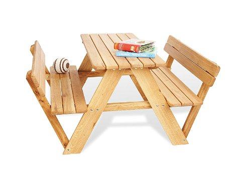 204019 - Lilli Kindersitzgruppe für 4 mit Rücklehne