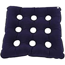 XUAN Cojín de aire colchón de asiento inflable prevenir el uso de día a día Decubitus (azul) 48X48CM