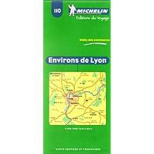 Carte routière : Environs de Lyon, N° 110