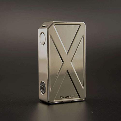Authentic teslacigs Tesla Invader III 240W Variable Voltage VV Box Mod (Stainless Steel)