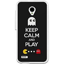 Funda Gel Vodafone Smart Prime 6 BeCool Keep Calm Comecocos