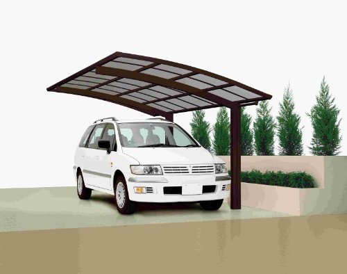 Preisvergleich Produktbild XIMAX Aluminium Design-Carport Portoforte Standard-Ausführung Typ 80 Mattbraun