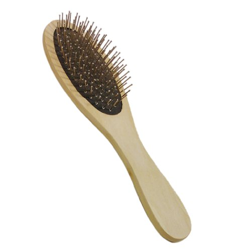 Brosse à Cheveux Massage Peigne En Bois Goupilles En Inox