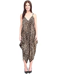 676fe4d6293 MISS BOHO CHIC New Ladies Cami Lagenlook Romper Loose Harem Jumpsuit  Playsuit Dress Plus Size