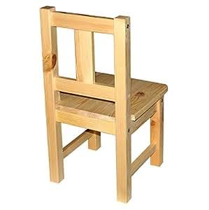 rabando kinderstuhl unbehandelt aus massivholz holz k che haushalt. Black Bedroom Furniture Sets. Home Design Ideas