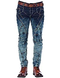 Cipo & Baxx Homme Jeans / Jeans Straight Fit Topstitching