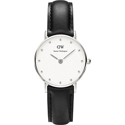 Daniel-Wellington-Classy-Women-Quartz-Watch-with-Analog-Display-and-Black-Leather-Strap-DW00100068