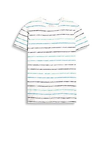 edc by ESPRIT Herren T-Shirt 037cc2k037 Weiß (White 100)