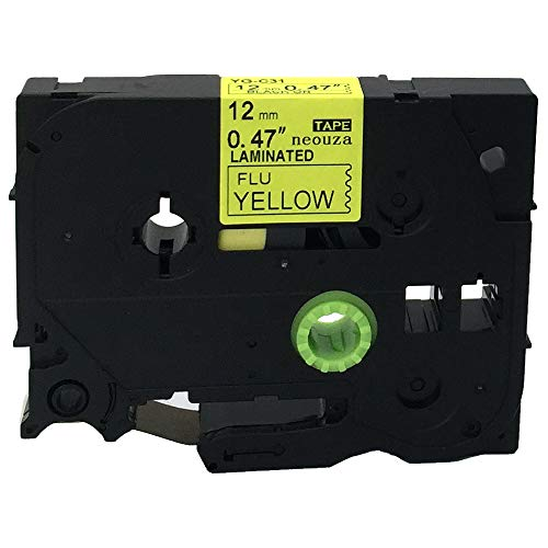 2x Schriftband-Kassetten für Brother TZ-721 TZE-721 Schwarz auf Grün 8m//9mm new