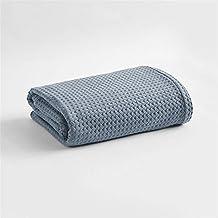 LILUO Mantas y colchas Sobrecama Algodón Napping Air Conditioning Soft Blanket Summer Thin Sola Toalla es