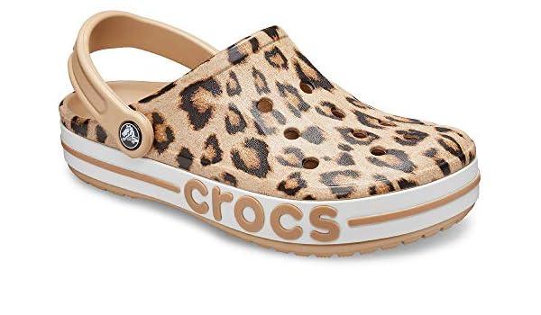 Buy crocs Unisex Adult Leopard Clogs-8