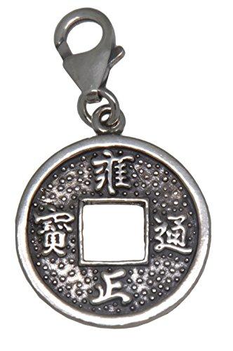 Einhänger für Bettelarmband Chinesische Münze