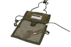 Swiss Arms Porte badge/Passeport/Carte de visite Kaki