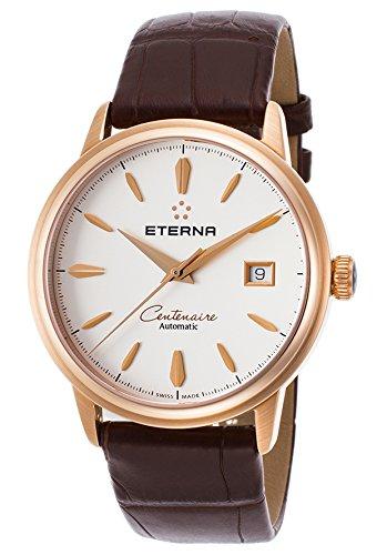 Eterna Centenaire Damen-Armbanduhr Aligatorleder