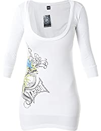 Tapout Pullover Blossom Weiß