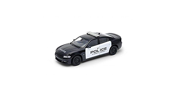 Welly 24079 Dodge Charger Pursuit Police Maßstab 1 24 Modellauto Spielzeug