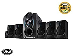 Zebronics Zeb - Bt9451 Rucf 5.1 Multimedia Speaker Home Theater System For Desktop, Laptop, Led Tv, Dvd Player, Projector