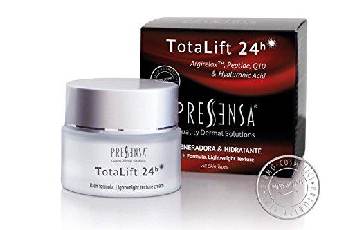 TotaLift 24h TAGESCREME GEGEN DAS ALTERN, antifaltencreme, regeneriert und führt Feuchtigkeit mit einem BOTOXEFFEKT zu, mit con EFECTO BOTOX ARGIRELOXTM-Peptid, Q10, Hyaluronsäure 50 ml