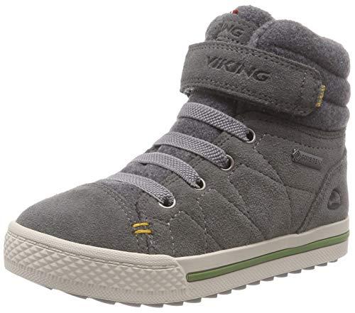 Viking Unisex-Kinder Eagle IV GTX Hohe Sneaker, Grey, 40 EU
