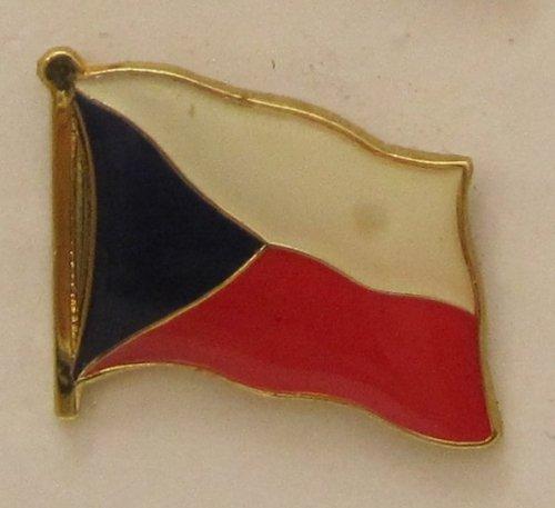 Pin Anstecker Flagge Fahne Tschechien Nationalflagge Flaggenpin Badge Button Flaggen Clip Anstecknadel