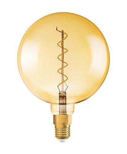 Osram LED Vintage 1906 Lampe, Sockel: E27, Warm White, 2000 K, 5 W, Ersatz für 28-W-Glühbirne