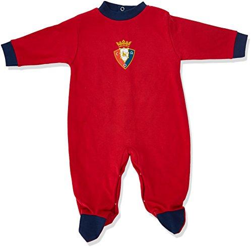 Club Atlético Osasuna Pelosa Pelele, Bebé-Niños, Rojo (Rojo/Azul Ma
