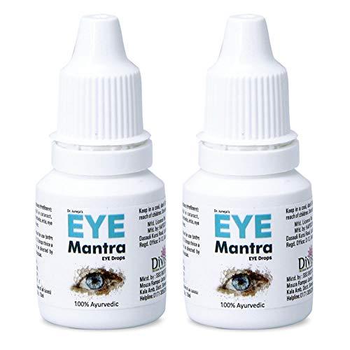 Dr Juneja's Eye Mantra Ayurvedic Eye Drops 10ml, Pack of 2
