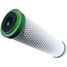 Carbonit Carbonit Cartuchos de filtro de agua Carbón Activo, color blanco/verde, 29x 8x 8cm